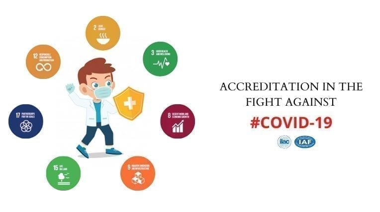 Accreditation in the fight against COVID-19